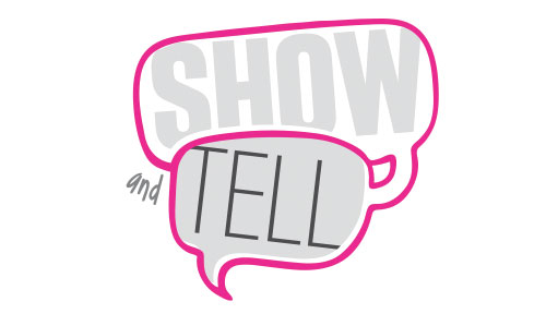 Show and Tell event logo